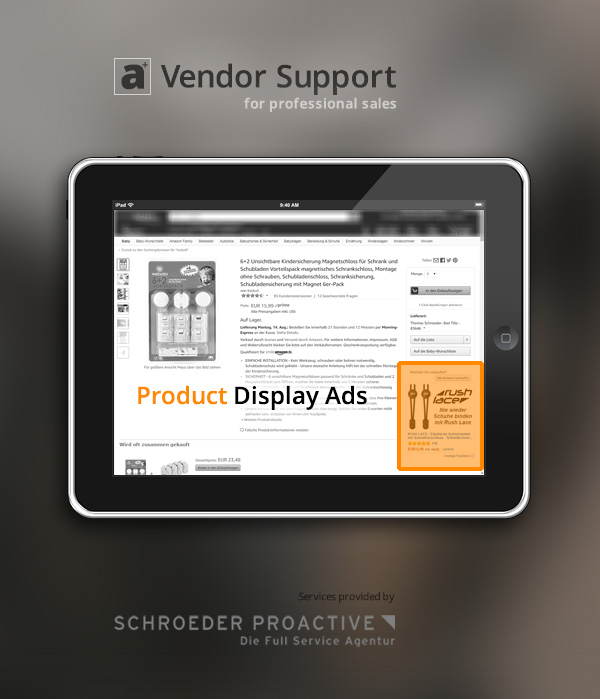 AMS Product Display Ads